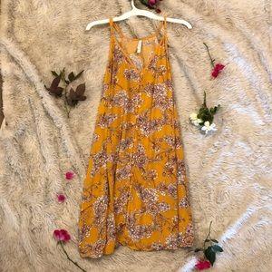 Loose, flowy button-down sundress